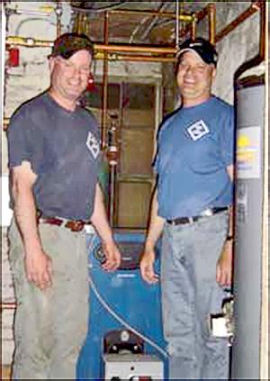 Professional service technicians